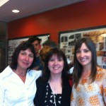 L to R Linda Moser, Celia Coyne, Brindi Joy