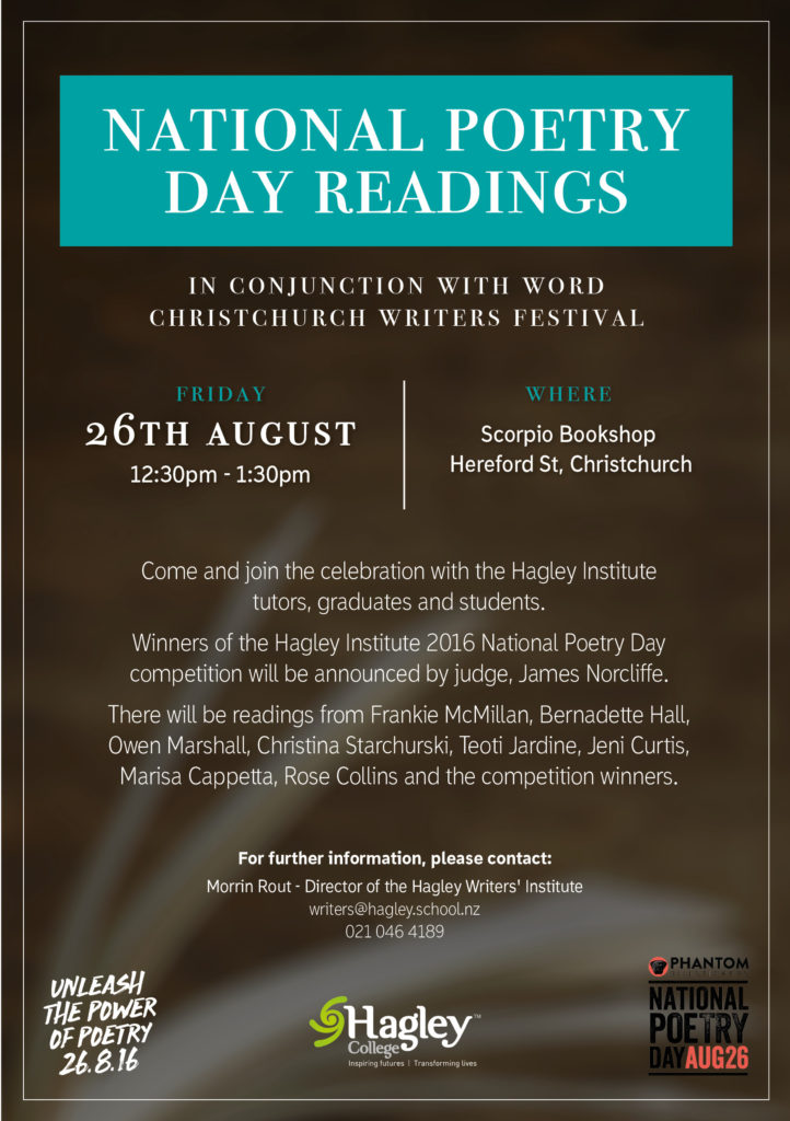 Poetry Readings Poster